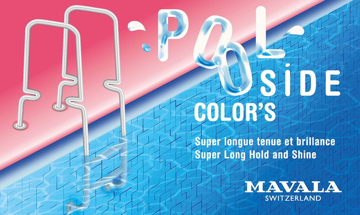 POOLSIDE Color's, adopt the positive and slightly exuberant style of a sparkling beauty queen!